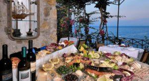 mangiare costiera amalfitana
