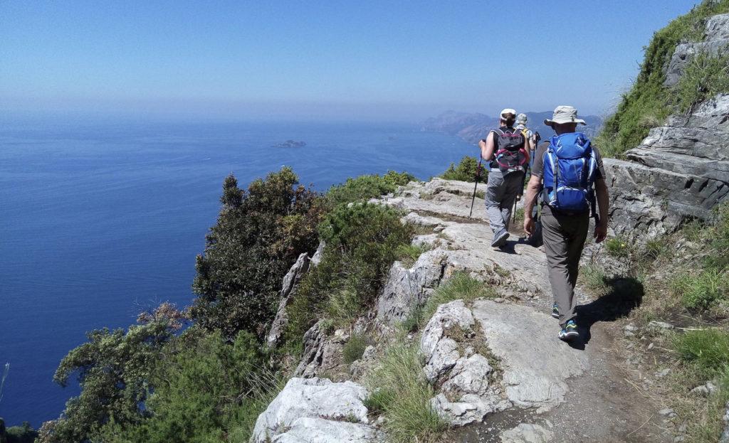 trekking costiera amalfitana